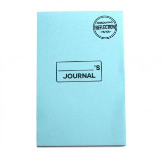 32 Sheet Disappearing Notebook Dissolving Message Paper - Reflection Journal