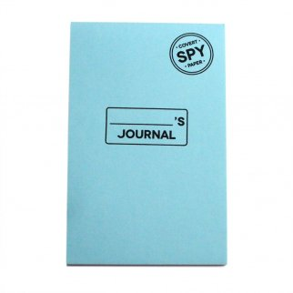 32 Sheet Disappearing Note Pad Dissolving Message Notebook Paper - Spy Journal