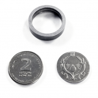 Covert Spy Coin Secret Compartment Gadget Diversion Safe - Israeli 2 Shekel