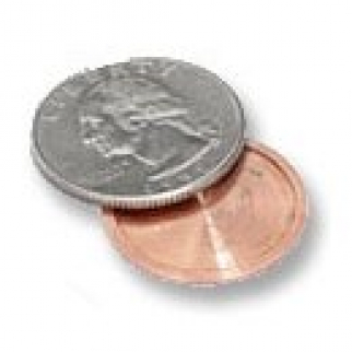 Covert Spy Coin Hidden Compartment US Quarter Diversion Safe