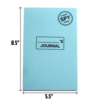 Disappearing Note Pad Journal 32 Sheets Dissolves In Water (Journal)