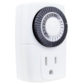 Intermatic Electric Wall Timer used for saving energy on appliances