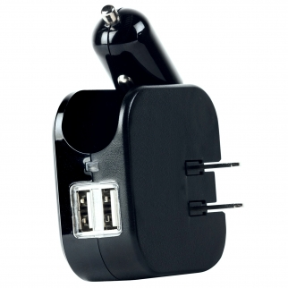 Gear Aid High Speed Dual USB Travel Charger