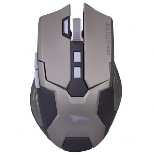 Black Cobra Gamer USB 8 Button Video Gaming Mouse Main Overhead