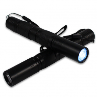 Micro LED Tactical Flashlight 120 for Camping Hiking Survival - 150 Lumen 1 Watt