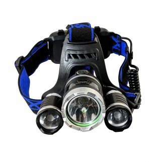 Rechargeable Adjustable 2250 Lumen Four-Stage LED Headlamp
