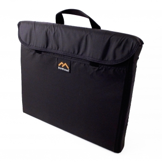 "Brenthaven 13"" Adjustable Velcro Vertical Padded Laptop Sleeve Cover with Handle"