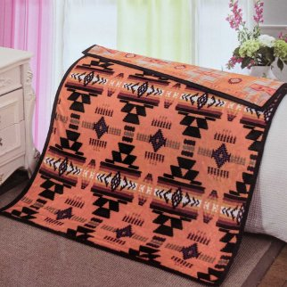 ASR Outdoor Southwest Blanket Reversible Throw - Orange