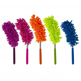12pk Microfiber Cleaning Dusters Assorted Colors