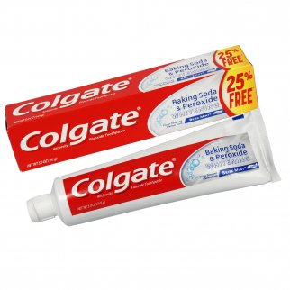 Colgate Baking Soda Whitening Toothpaste Mint 5oz - 3pk