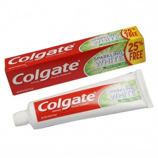 3pk Colgate Baking Soda Mint Zing Sparkle White 5oz