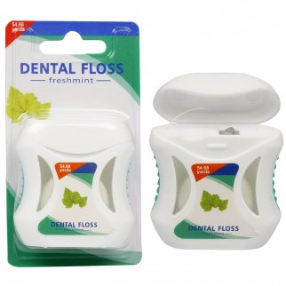 Fresh Mint Dental Floss for Teeth and Gum Oral Care 1 Pack