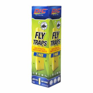 PIC Fly Traps Glue Attracts and Traps Flying Insects No Mess