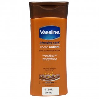 Vaseline Intensive Care Cocoa Radiant Moisturizing Lotion