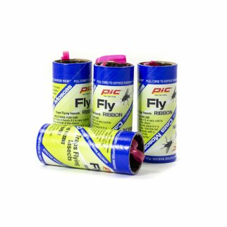 PIC Fly Ribbons Attracts and Traps Flying Insects No Mess