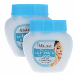 2pk Bella Linda Skin Care Face Moisturizer Cream Lotion 6.5oz