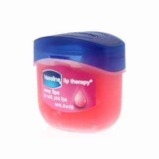 Vaseline Lip Therapy Rosy Lip Balm Moisturizer .25oz Jar