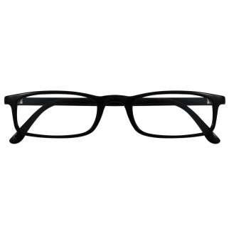 Reading Glasses Nannini Optics Vision Care Italian Fashion Readers - Black 1.5