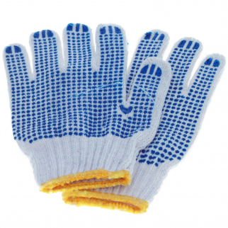 Universal - Dot Grip Non-Slip Gardening Work Gloves - Blue