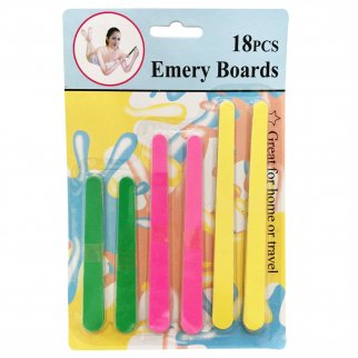Home Essentials Nail Files Buffers Emery Boards 18 Pieces