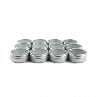 12pc Aluminum Containers