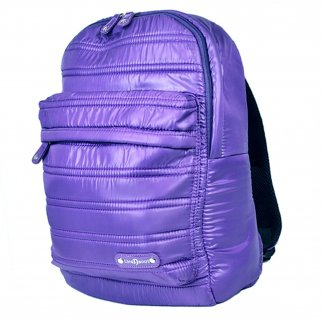 "ASR Urban Beat Purple Synthetic Down Pull Over 14"" Padded Laptop Backpack"