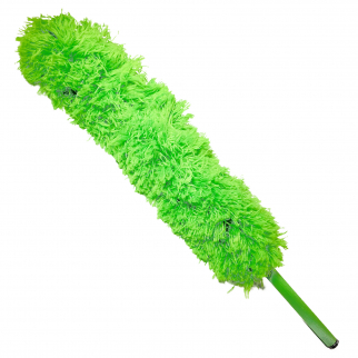 Universal Home Telescopic Jumbo Flexible Feather Duster Extendable to 56In Green