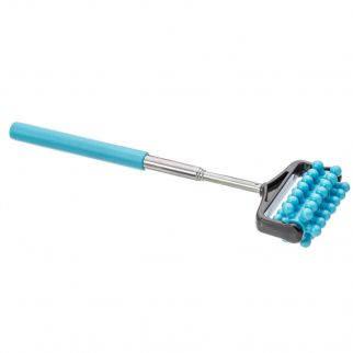 Universal Home Extendable Telescoping Massage Roller Muscle Relief - Blue