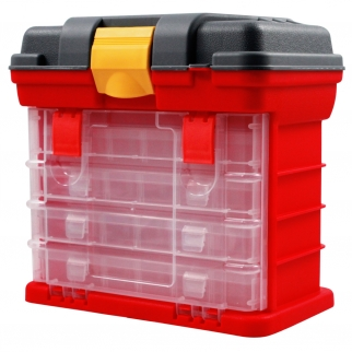 Universal Tool Heavy Duty Plastic Tool Storage Chest Box