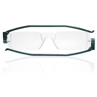 Nannini Italy Grey Reading Glasses - 2.0 Optic