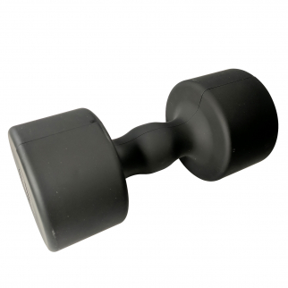 Black Toy Dumbbell Money Bank