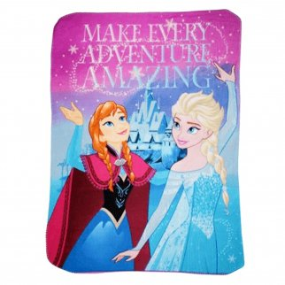 Disney Frozen Fleece Throw Blanket 45 x 60 Inch Girls Decor