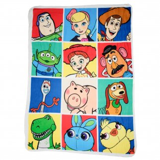 Toy Story 4 Fleece Throw Blanket 45 x 60 Inch Kids Decor