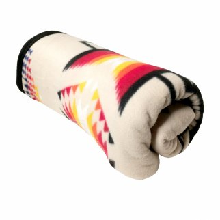 ASR Outdoor Southwest Style Soft Fleece Blanket Cream