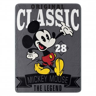 Disney Mickey Mouse Soft Throw Blanket 46 x 60 Inch
