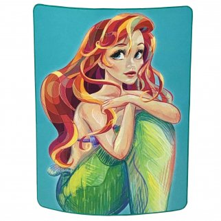 The Little Mermaid Soft Throw Blanket 46 x 60 Inch