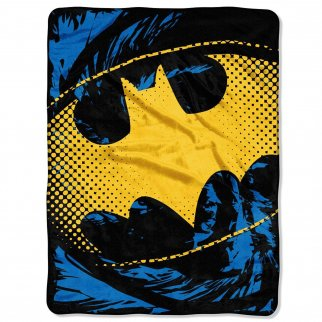 DC Comics Batman Soft Throw Blanket 46 x 60 Inch