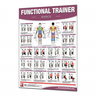Productive Fitness and Health Poster Series Basic Functional Trainer - Laminated
