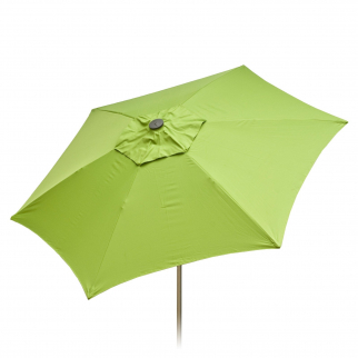 9ft Tilt Doppler Market Umbrella Home Patio Sun Shade Canopy - Lime Green