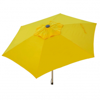 9ft Tilt Doppler Market Umbrella Home Patio Sun Shade Canopy - Yellow