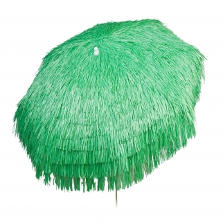 Palapa Tiki Push/Tilt Lime Umbrella 7 foot - Patio Pole