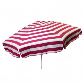 6ft Italian Market Tilt Umbrella Home Patio Sun Canopy Pink Stripe - Patio Pole