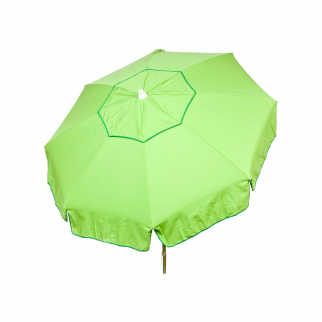 6ft Italian Market Tilt Umbrella Home Patio Canopy Sun Shelter Lime - Beach Pole