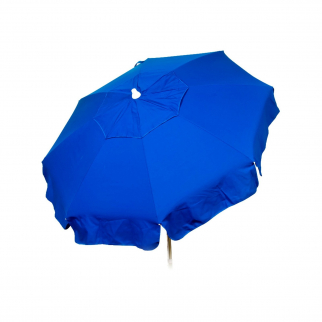 6ft Italian Market Tilt Umbrella Home Patio Canopy Sun Shelter Blue - Beach Pole