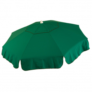 6ft Italian Market Tilt Umbrella Home Patio Canopy Sun Shelter, Green - Bar Pole