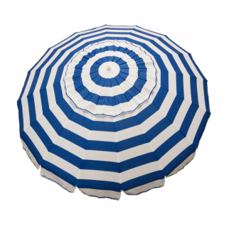 7ft Tilt Outdoor Aluminum Beach Umbrella for Home Patio Sun Shade - Royal Blue