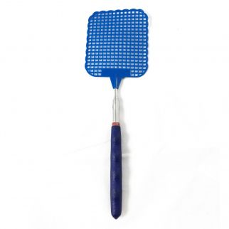 ASR Outdoor - Blue Extendable Fly Swatter - Durable Telescopic Pole