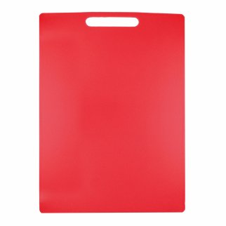 Home Essentials Kitchen Cutting Board 10.8 x 15 Inch - Red