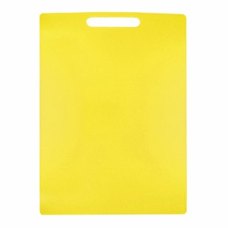 Home Essentials Kitchen Cutting Board 10.8 x 15 Inch - Yellow