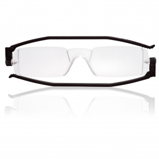 Nannini Italy Black Reading Glasses - 1.0 Optic